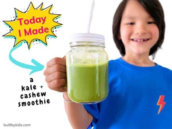 cashew kale shake
